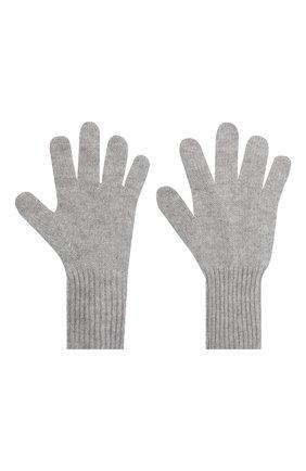 Детские кашемировые перчатки GIORGETTI CASHMERE светло-серого цвета, арт. MB1699/14A | Фото 2