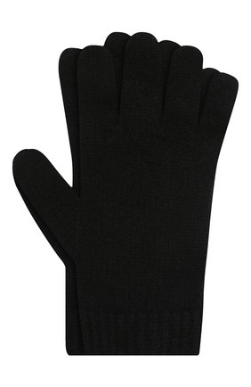 Детские кашемировые перчатки GIORGETTI CASHMERE черного цвета, арт. MB1698/8A | Фото 1