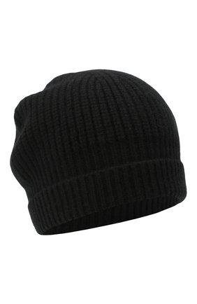 Детского кашемировая шапка GIORGETTI CASHMERE черного цвета, арт. MB1694/4A | Фото 1