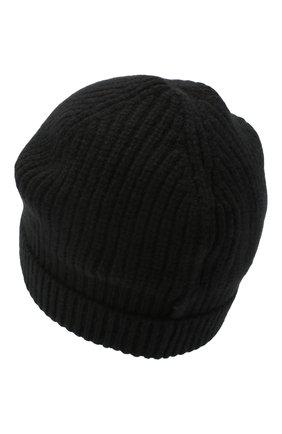 Детского кашемировая шапка GIORGETTI CASHMERE черного цвета, арт. MB1694/4A | Фото 2