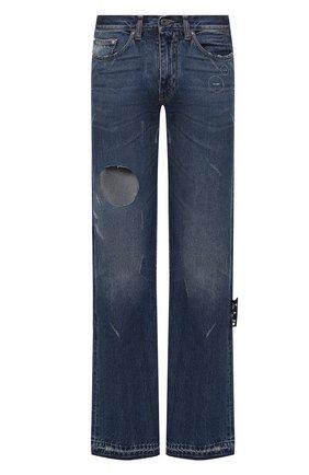 Мужские джинсы OFF-WHITE синего цвета, арт. 0MYA106R21DEN002 | Фото 1