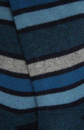Мужские кашемировые носки PANTHERELLA синего цвета, арт. 57005 | Фото 2