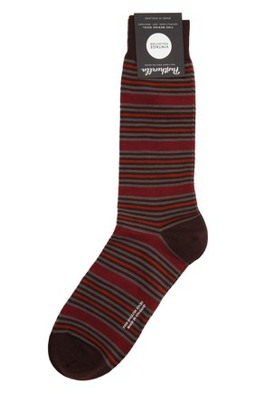 Мужские носки PANTHERELLA красного цвета, арт. 595602 | Фото 1