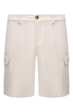 Мужские шорты BRUNELLO CUCINELLI кремвого цвета, арт. M289LV0310 | Фото 1
