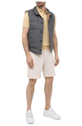 Мужской пуховый жилет BRUNELLO CUCINELLI темно-серого цвета, арт. MD4951764 | Фото 2