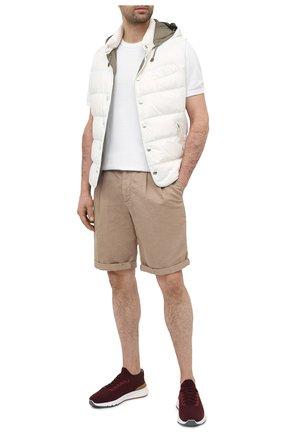 Мужской пуховый жилет BRUNELLO CUCINELLI белого цвета, арт. MR4051716 | Фото 2