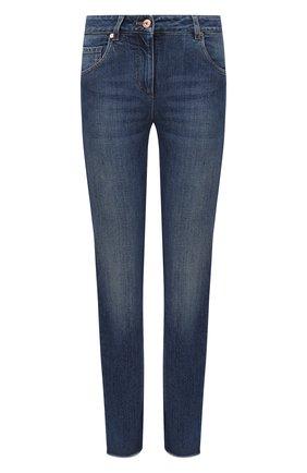 Женские джинсы BRUNELLO CUCINELLI синего цвета, арт. MB005P5553 | Фото 1