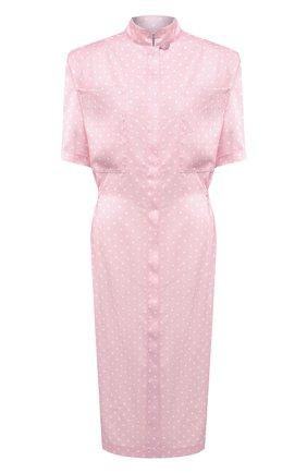 Женское платье VETEMENTS розового цвета, арт. WE51DR100P 2607/BABY PINK/WHITE | Фото 1