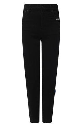 Женские джинсы OFF-WHITE черного цвета, арт. 0WYA019R21DEN001 | Фото 1
