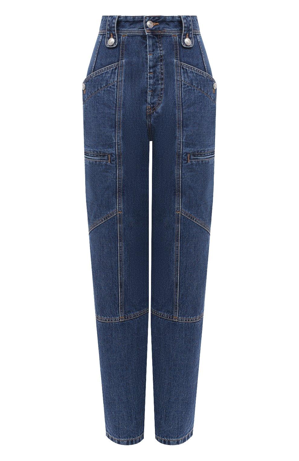 Женские джинсы ISABEL MARANT ETOILE синего цвета, арт. PA1398-20A034E/NEK0 | Фото 1