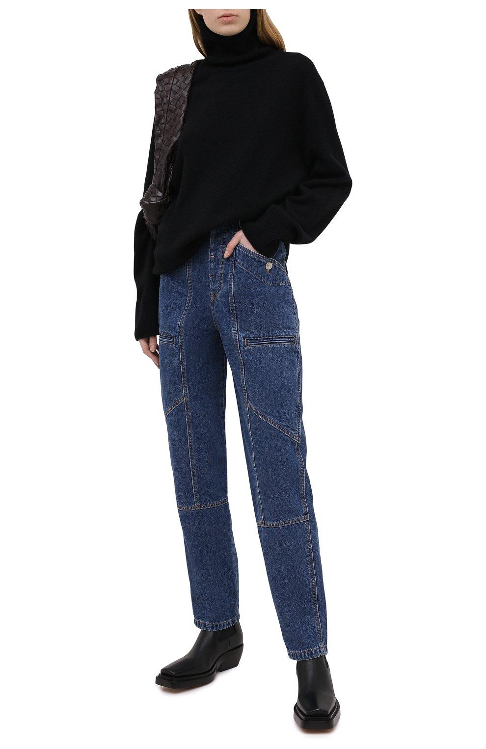 Женские джинсы ISABEL MARANT ETOILE синего цвета, арт. PA1398-20A034E/NEK0 | Фото 2