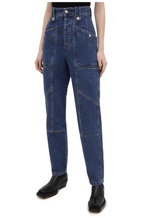 Женские джинсы ISABEL MARANT ETOILE синего цвета, арт. PA1398-20A034E/NEK0 | Фото 3