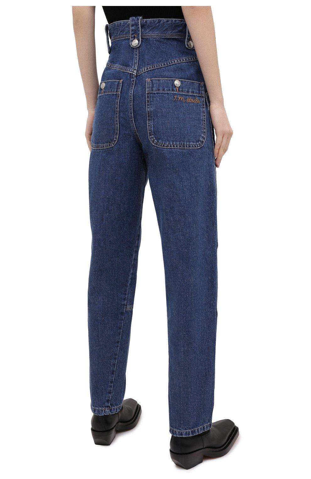 Женские джинсы ISABEL MARANT ETOILE синего цвета, арт. PA1398-20A034E/NEK0 | Фото 4