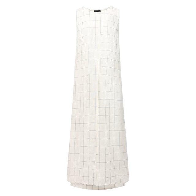 Льняное платье Giorgio Armani