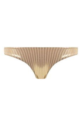 Женский плавки-бикини MELISSA ODABASH золотого цвета, арт. VIENNA B0TT0M | Фото 1