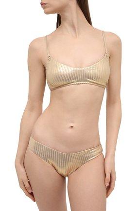 Женский плавки-бикини MELISSA ODABASH золотого цвета, арт. VIENNA B0TT0M | Фото 2