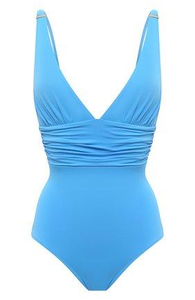 Женский слитный купальник MELISSA ODABASH голубого цвета, арт. PANAREA | Фото 1