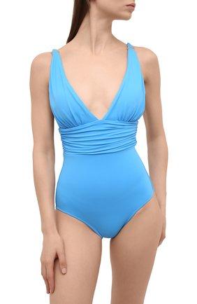 Женский слитный купальник MELISSA ODABASH голубого цвета, арт. PANAREA | Фото 2