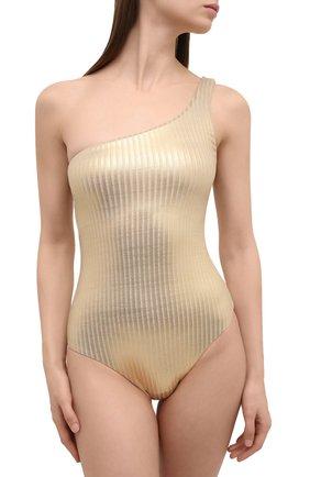 Женский слитный купальник MELISSA ODABASH золотого цвета, арт. PALERM0 | Фото 2