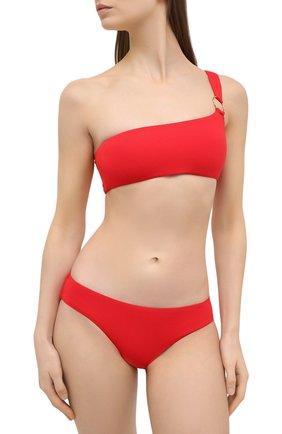 Женский плавки-бикини MELISSA ODABASH красного цвета, арт. MAJ0RCA B0TT0M   Фото 2