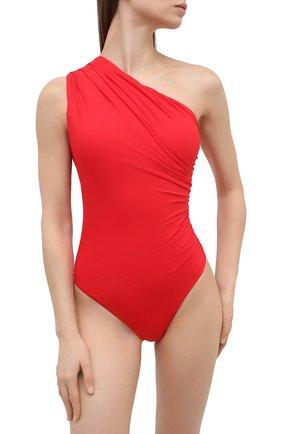 Женский слитный купальник MELISSA ODABASH красного цвета, арт. ARIZ0NA | Фото 2