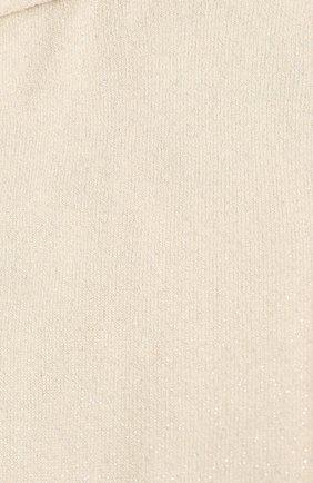 Женские носки из кашемира и шелка BRUNELLO CUCINELLI кремвого цвета, арт. M41945019 | Фото 2
