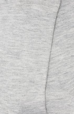 Женские носки из кашемира и шелка BRUNELLO CUCINELLI серого цвета, арт. M41945019 | Фото 2