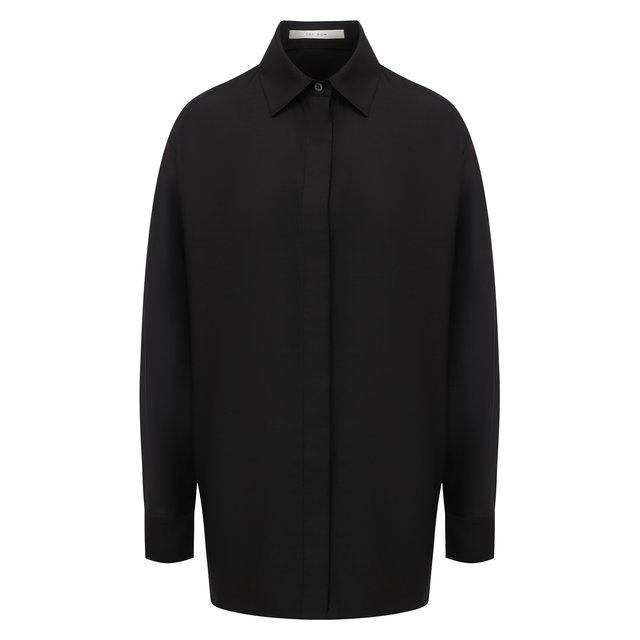 Рубашка из шерсти и шелка The Row