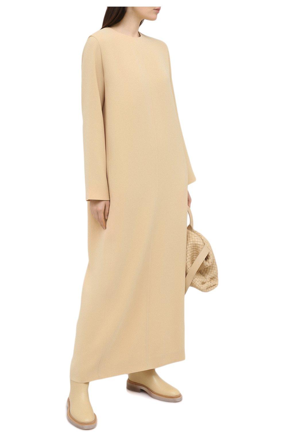 Женское платье THE ROW бежевого цвета, арт. 5470W1968   Фото 2