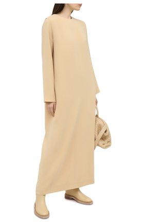 Женское платье THE ROW бежевого цвета, арт. 5470W1968 | Фото 2