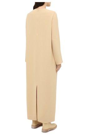 Женское платье THE ROW бежевого цвета, арт. 5470W1968   Фото 4