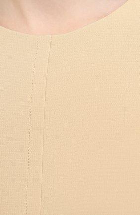 Женское платье THE ROW бежевого цвета, арт. 5470W1968   Фото 5