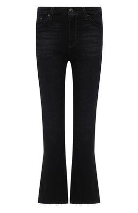 Женские джинсы AG черного цвета, арт. STS1662RH/02YMQE/MX | Фото 1