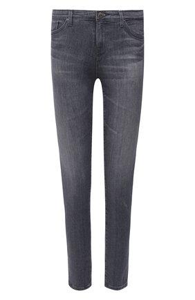 Женские джинсы AG серого цвета, арт. AHD1389/EMRS/MX   Фото 1