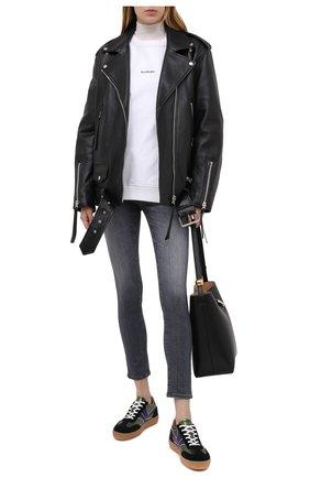 Женские джинсы AG серого цвета, арт. AHD1389/EMRS/MX   Фото 2