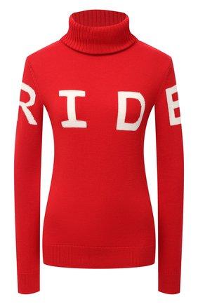 Женский шерстяной свитер PERFECT MOMENT красного цвета, арт. W20/W30000911702 | Фото 1
