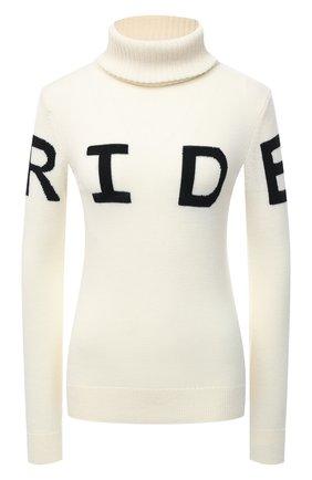 Женский шерстяной свитер PERFECT MOMENT белого цвета, арт. W20/W30000911707 | Фото 1