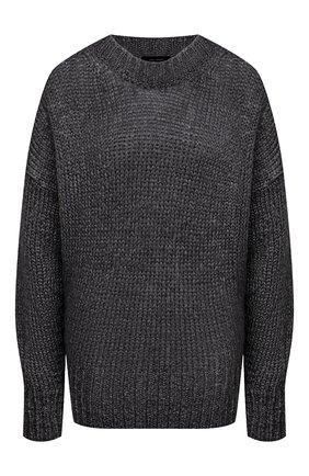 Женский шерстяной свитер ISABEL MARANT серого цвета, арт. PU1386-20A041I/ESTELLE | Фото 1