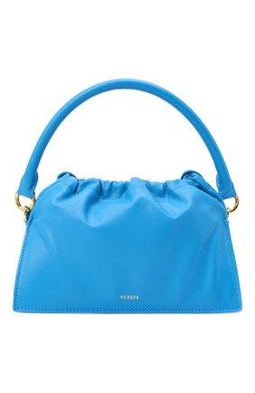Женская сумка bom YUZEFI голубого цвета, арт. YUZAW20-HB-B0-03   Фото 1