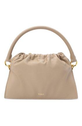 Женская сумка bom YUZEFI светло-бежевого цвета, арт. YUZAW20-HB-B0-07   Фото 1