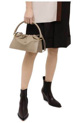 Женская сумка bom YUZEFI светло-бежевого цвета, арт. YUZAW20-HB-B0-07   Фото 2