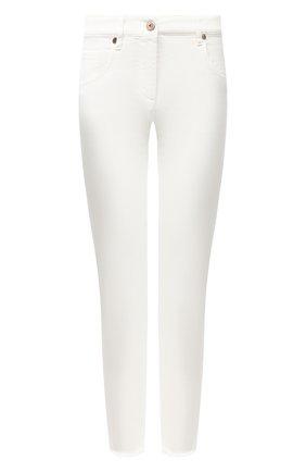 Женские джинсы BRUNELLO CUCINELLI белого цвета, арт. MH137P5553 | Фото 1