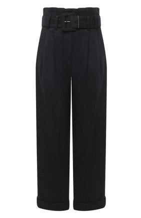Женские шерстяные брюки BRUNELLO CUCINELLI темно-серого цвета, арт. MA160P7382 | Фото 1