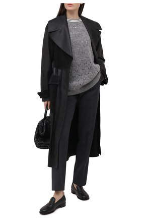 Женский свитер BRUNELLO CUCINELLI серого цвета, арт. M6W575700   Фото 2