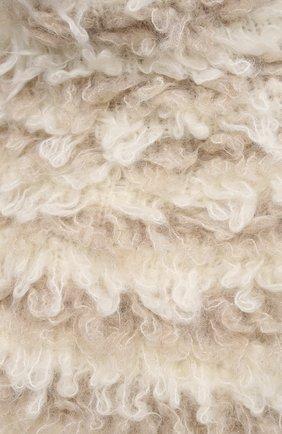 Женский шерстяной жилет BRUNELLO CUCINELLI светло-бежевого цвета, арт. M1U376404   Фото 5