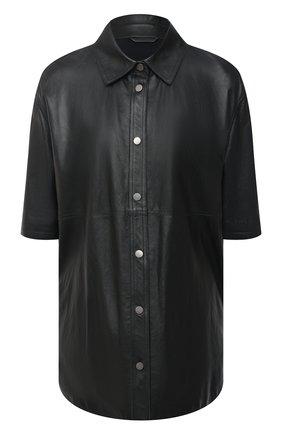 Кожаная рубашка | Фото №1