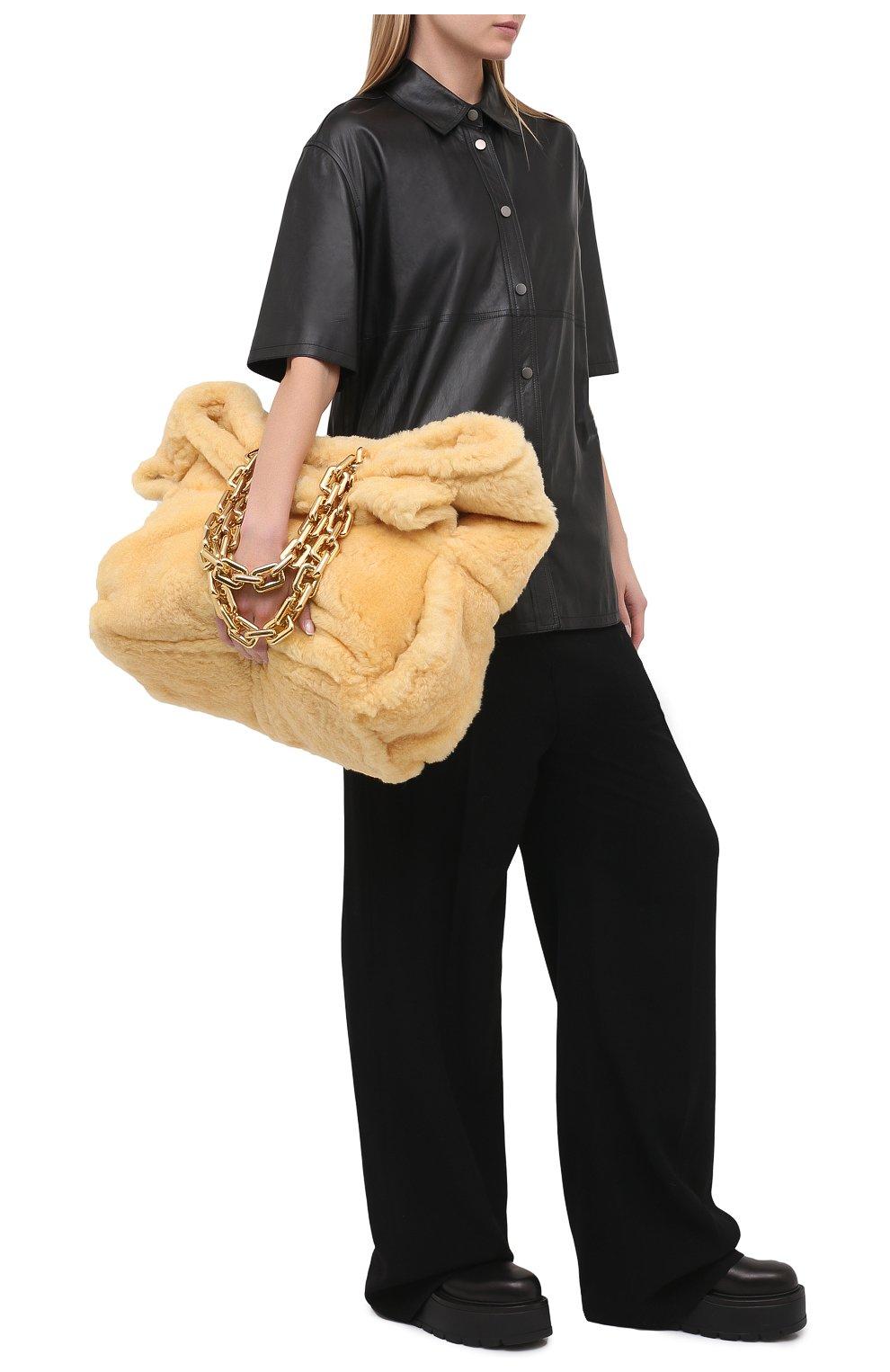 Женская кожаная рубашка BRUNELLO CUCINELLI черного цвета, арт. M0NBGRC106 | Фото 2
