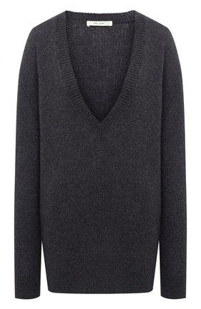 Женский кашемировый свитер THE ROW серого цвета, арт. 5508Y187 | Фото 1