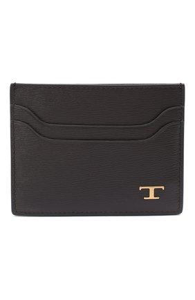 Женский кожаный футляр для кредитных карт TOD'S коричневого цвета, арт. XAMTSIF0200VIB | Фото 1
