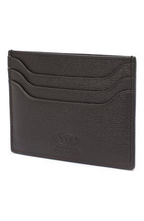 Женский кожаный футляр для кредитных карт TOD'S коричневого цвета, арт. XAMTSIF0200VIB | Фото 2